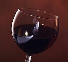 Red Wine, Time to Dine by Sherry Hallemeier