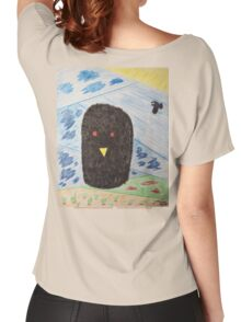 Bird Makes Fancy Self Portrait Women's Relaxed Fit T-Shirt