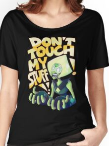 Don't Touch Her Stuff Women's Relaxed Fit T-Shirt