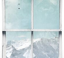 Window Art 3 - Alps by Michael Murray