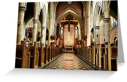 St Peters Cathedral by Lynda Heins