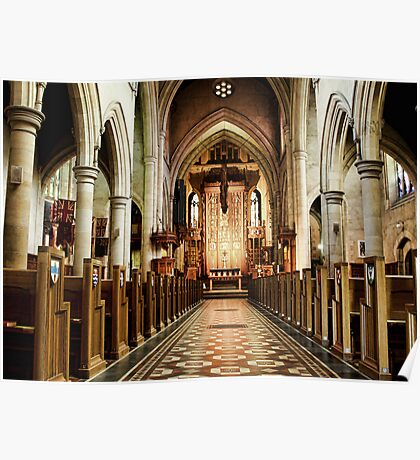 St Peters Cathedral Poster