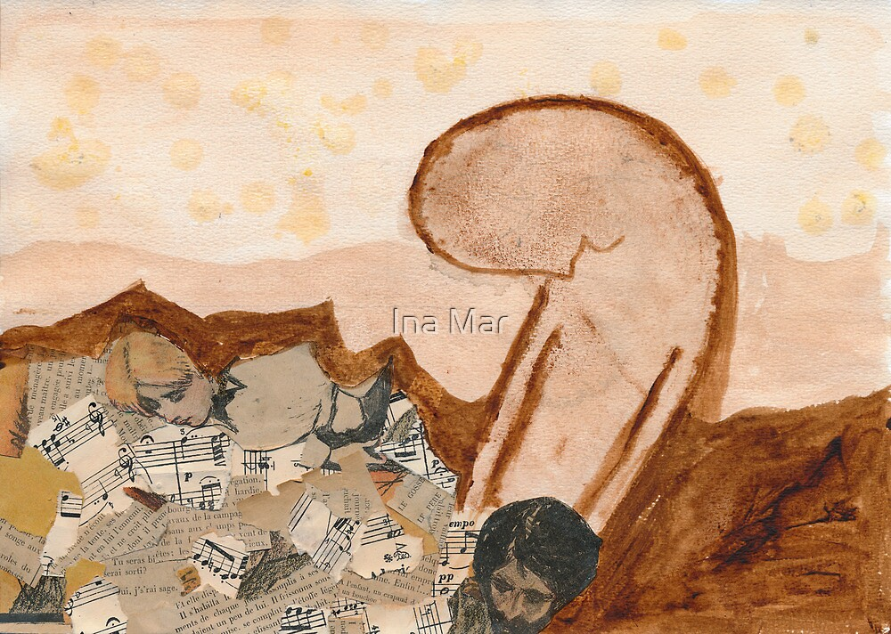 Lost in an arid landscape of memories by Ina Mar