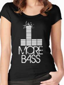 More Bass Women's Fitted Scoop T-Shirt