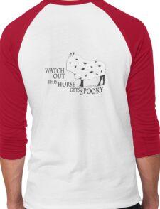 Spooky Horse Men's Baseball ¾ T-Shirt