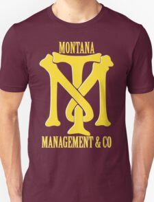 Montana Management & Co Tony Montana - Scarface - Movie Unisex T-Shirt