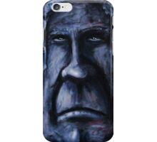 Fat Face - Blue iPhone Case/Skin