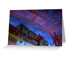 Chewing Gum Stars Greeting Card