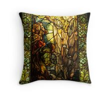 Message of the Angels to the Shepherds. Throw Pillow