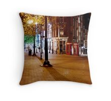 Telephone Boxes Throw Pillow