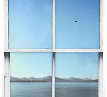 Window Art 1 - Scottish Loch by Michael Murray