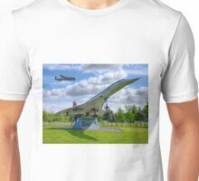 Dambusters 70 Years On - BBMF Lancaster 3 - HDR Unisex T-Shirt