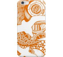 Orange Birds Eye View iPhone Case/Skin