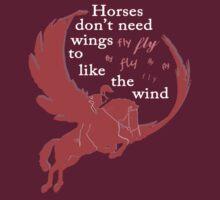 Fly like the wind by walledinspace
