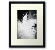 I'll Take The Brush Of My Memory And Paint You On My Mind Framed Print