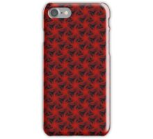Floral Red Background iPhone Case/Skin