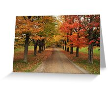 Autumn Wonderland II Greeting Card