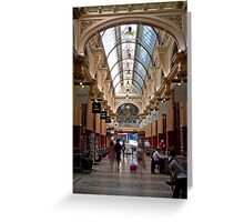 Block Arcade - Melbourne Greeting Card