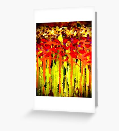 Lost in Glory Greeting Card