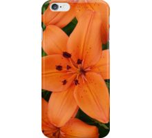 Orange Lilies iPhone Case/Skin