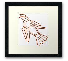 Eagle Ringerike Denmark Framed Print