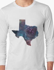Texas Nebula Long Sleeve T-Shirt