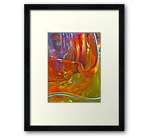 Riding Life's Flow Framed Print