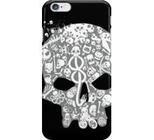 Skull famous heads iPhone Case/Skin