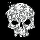 Skull famous heads by Harantula