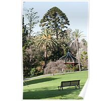 Botanic Gardens - Melbourne Poster