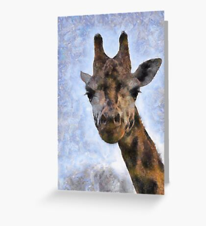 Did you want something down there? Greeting Card