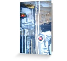witness detail 8 Greeting Card