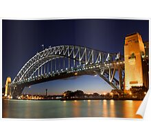 The Harbour Bridge Poster