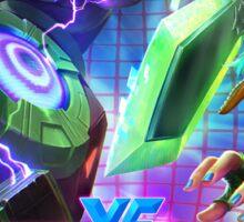 Arcade Riven - League of Legends Sticker