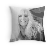 Simply Black & White Throw Pillow