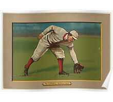 Benjamin K Edwards Collection Amby McConnell Boston Red Sox baseball card portrait Poster