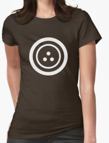 Dystopian Logos: Peace of Mind, Peace of Body Womens Fitted T-Shirt