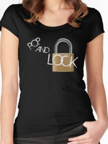 Pop and Lock Women's Fitted Scoop T-Shirt