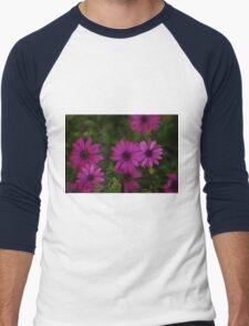 Pretty in Purple Men's Baseball ¾ T-Shirt