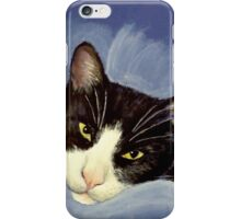 Black and white cat :) iPhone Case/Skin
