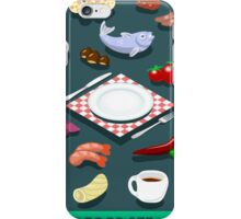 Diet Set Food Isometric iPhone Case/Skin