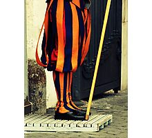 Swiss Guard Photographic Print