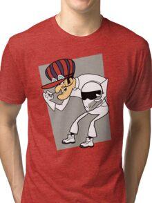 The Stig Unmasked! Tri-blend T-Shirt