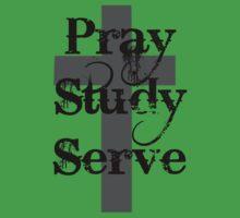 Pray Study Serve Kids Clothes