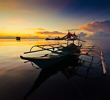 Banca at sunrise by wlchin