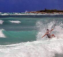 Riding the Waves by John  Kapusta
