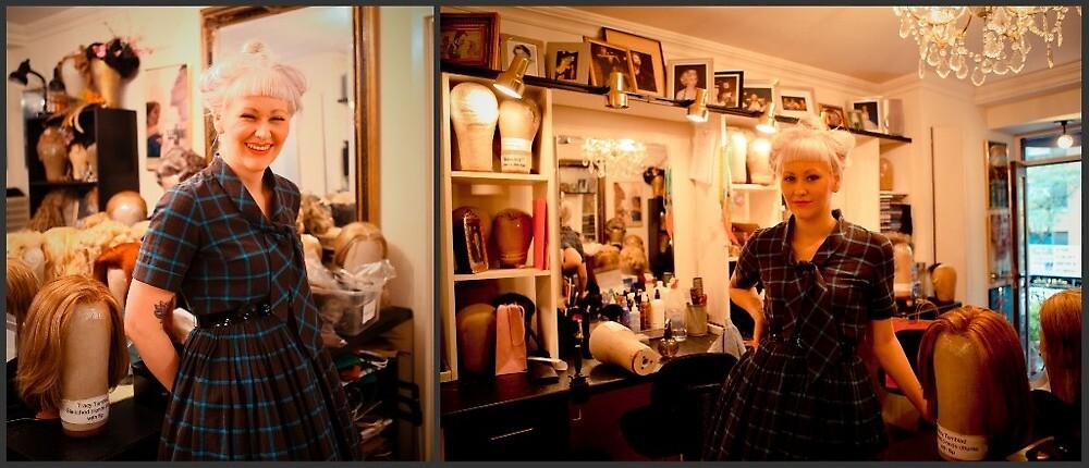 Apprentice to Broadway Wig Master V by Jane Valentine