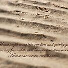 footprints on our heart by Floralynne