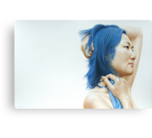Blue (pastel) Canvas Print
