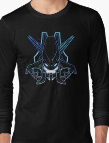 Halo - Legendary Logo (Neon Light Effect) Long Sleeve T-Shirt